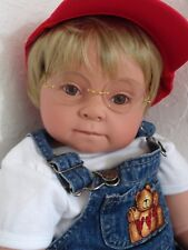 "Reborn 22""Toddler Boy Doll ""Tommy and Teddy"" -Down Syndrome Tribute"