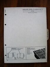 John Deere No. 6  Sheller Corn Cylinder Parts Catalog Manual ORIGINAL