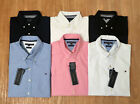 TOMMY HILFIGER NEW MEN´S POPLIN OXFORD SHIRT TOP POLO TSHIRT CASUAL SLIM FIT