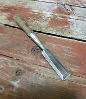 """Vintage Greenlee 3/4"""" Bevel Edge Socket Wood Chisel Tool Similar To Stanley 750"""