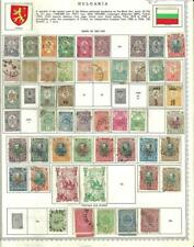 Extensive early Bulgaria Collection with better stamps and much mint