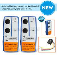 Winch Wireless Remote Control Switch Handset Kit Fit For ATV SUV UTV 100