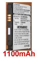 Batterie 1100mAh type AB653850CA AB653850CABSTD Pour Samsung SGH-I900