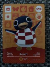 Animal Crossing Amiibo-Karte Serie 1/Nr. 098 - Roland/Roald (EU-Version!)