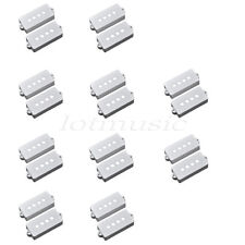 20pcs White P90 Soap Bar Pickup Covers For Fender Precison PB Pickup replacement