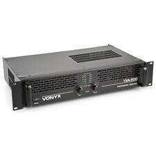Etapa de potencia amplificador para altavoces serie profesional 2x400W negro