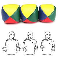 Juggling Balls Classic Bean Bag Juggle Magic Circus Beginner Kids Toy Gift