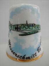 Dé à coudre de collection Thimble - LES AVIONS DE GUERRE - MESSERSCHMITT Bf109