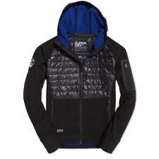Superdry (Brand New) Men's Black Mountain Softshell Hybrid Jacket Size M