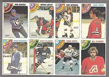 1978-79 OPC Proof 8-Panel, Boudreau, Clement, Schock...