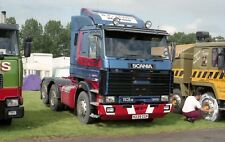 TRUCK PHOTO - RF LEWIS, HEREFORD SCANIA 113M LORRY H239 CGV