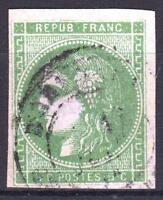 """FRANCE STAMP TIMBRE 42 Bd """" CERES BORDEAUX 5c VERT SAUGE """" OBLITERE A VOIR P022"""