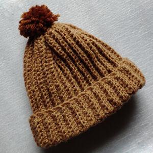 New Born Baby Hat Hand-Knitted Winter Warm Wool DIY Craft 0-16 Month Boy/Girl