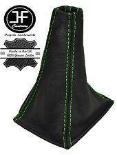 GREEN STITCHING REAL LEATHER MANUAL GEAR GAITER FITS PRIMERA P11 1996-2001