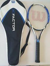 Wilson K Factor K Pro.Six 4 3/8 Grip Tennis Racquet W/case 100 sq in