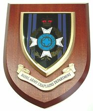 ROYAL ARMY CHAPLAINS DEPARTMENT  CLASSIC HAND MADE  REGIMENTAL MESS PLAQUE