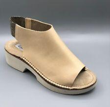 "NEW Clarks ""Sadia Soda"" Ladies Nude Leather Open Toe Sandals UK 3 D"