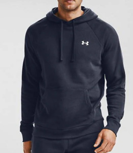 Under Armour Rival Fitted OTH Hoody Mens Navy UK Size XL *REF14