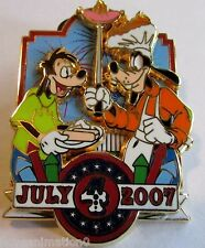 Disney WDW Cast Member Exclusive 4th of July Goofy and Max Pin
