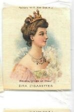 1908 Zira Cigarettes Tobacco Silk Queen of Italy Helena
