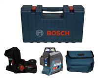 BOSCH GLL3-300 360° 3-PLANE SELF-LEVELING LINE LASER Manufacturer Refurbished