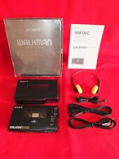 Latest Release Sony Walkman Professional WM-D6C TC-D6C Boxed Case Shoulderstrap