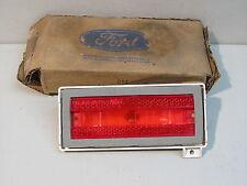 NOS 1976 FORD LTD LH RED QUARTER PANEL MARKER LIGHT LENS, NEW OEM FOMOCO