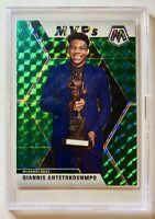 2019-20 Mosaic Giannis Antetokounmpo MVP Green SP #297 MILWAUKEE BUCKS