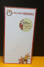 Mary Englebreit 'On the Road to Christmasville' Magnetic 80 Sheet List Pad New