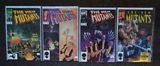 New Mutants #22,#23,#24,#29 (1985 Marvel 1st series) (Lot of 4 comics) VF