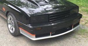 1979 - 1986 Fox Body Mercury Capri Smoke Headlight Covers