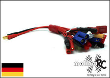 Multi Ladekabel 19 in 1 Goldkontakt Universal RC Ladekabel 4mm  XT60 EC3 JST T-P