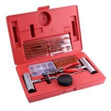 56pcs Universal Heavy Duty Tire Repair Tools Kit for Motorcycle ATV Car W/Box