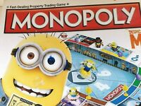 Hasbro Despicable Me Monopoly - Exclusive Minions - Boxed - Used - Complete