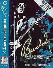 BUDDY BUDDY HOLLY STORY ORIGINAL LONDON CAST CASSETTE ALBUM