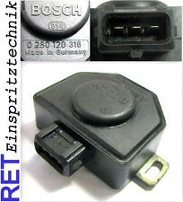 Drosselklappenschalter BOSCH 0280120316 BMW Opel original