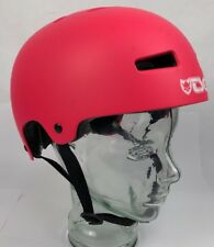 TSG EVOLUTION HELMET XL SKATEBOARD BMX BIKE Punk Pink -FAST SHIPPING