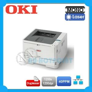 OKI B432DN Mono Laser Network Printer+Duplexer+1-yr Warranty P/N:45762013 *RFB*