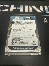 "WD Westeren Digital 320GB 7200rpm 2.5"" (WD3200BEKT) Laptop HDD Hard Disk Drive"