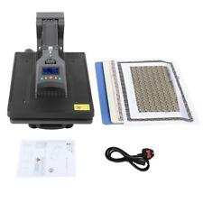 HEAT PRESS TRANSFER PRINTING MACHINE DIY PRINTER T-SHIRT SUBLIMATION SET UK PLUG