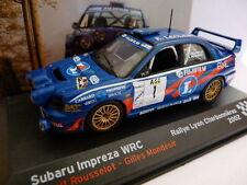 voiture 1/43 IXO altaya Rallye Champions Français : SUBARU Impreza WRC Leclerc
