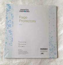 Creative Memories 12x12 TRUE Page Protectors Scrapbook Page Album Refill