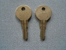 "Seeburg Wallbox ""S"" Keys 3W1 3W100 3WA ""ORIGINAL KEYS"" .100'S DIFFERENT NUMBERS"