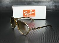 RAY BAN RB4125 710 51 Light Havana Crystal Brown Gradient 59 mm Men's Sunglasses