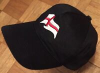 Baseball Cap Hat St George's Flag Front Logo Hook Loop Fasten One Size Fits All