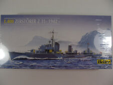 Heller 1/400 Sc WWII German Navy Destroyer Zerstorer Z31 1942 SEALED Model Kit