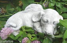 Latex dog angel w plastic backup mold plaster concrete mould