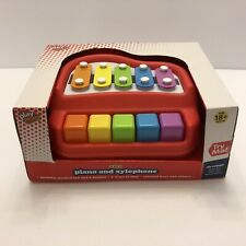 Play Right 2 in 1 Piano and Xylophone *Brand New*
