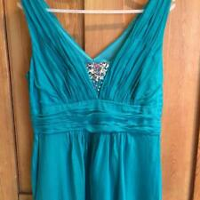 Monsoon Evening/Prom dress with sequins. Size 14, 100% Silk