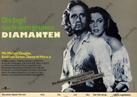 DDR Progress Filmplakat A3 Die Jagd nach dem grünen Diamanten 1986